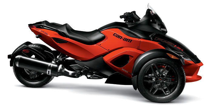 Can am spyder rs s for Can am spyder motor